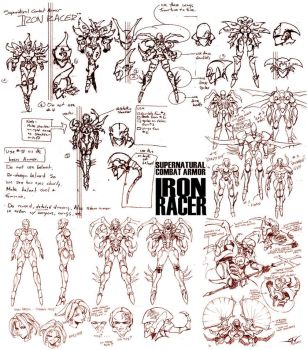 The Iron Racer by batangbatugan