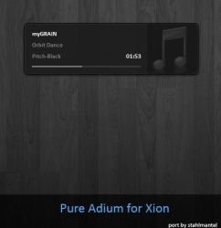 Pure Adium for Xion by stahlmantel