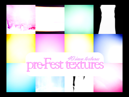 pre-Fest textures by innocentLexys