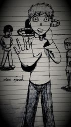 Special punishment sketch by Probe100