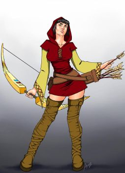 REd ARcher by Lovely-Bacar
