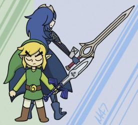 Two Swords by M-D-47