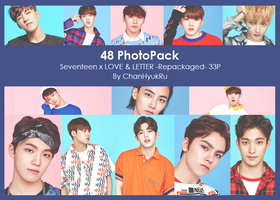 48 / Seventeen x LOVE and LETTER Repack PhotoPack by ChanHyukRu