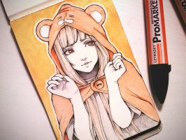 Himouto! Umaru-chan + VIDEO process by Ladowska