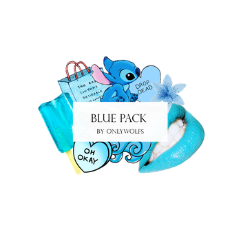 Blue Pack / Pack Azul [Pack #3] by OnlyWolfs