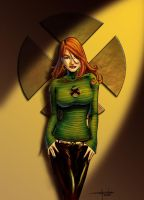 Jean Grey by MykaVykos