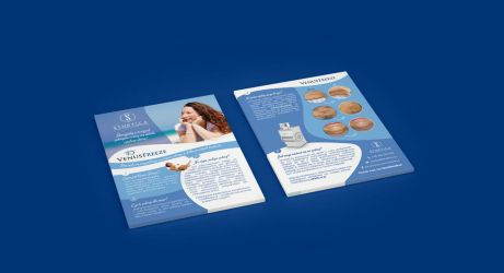 Flyer   A5   aesthetic medicine clinic II by imaginaryuser