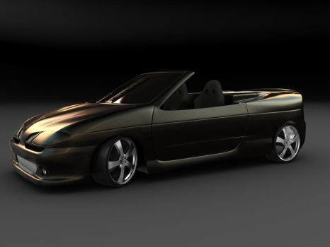 Megane phase Cabrio by d1pst1ck