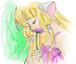 chii with flower by holybell07