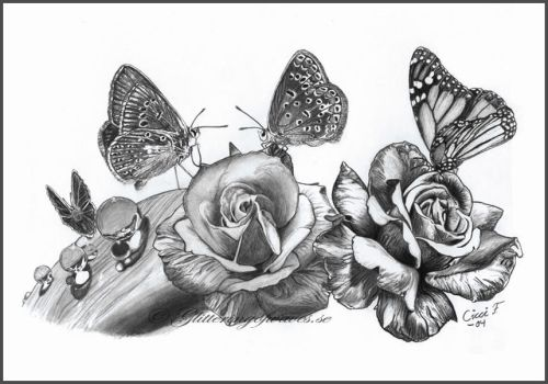 Butterfly Paradise by WaveGlistening