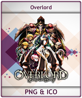 Overlord - Anime Icon by Aliceieous