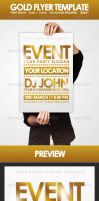 Gold - Flyer Template by DOMDESIGN