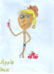 Apple  Jack Humanized by bronysrus
