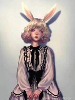 Bunny by cosmogirll