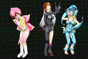 digimon girl TF 2 by whi-sky
