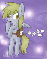 Derpy Hooves by chibitracy