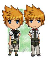 - Ventus and Roxas - by jcgt85