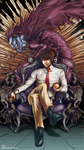 Yagami Light: God of the New World by VKliza