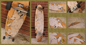 My Longboard by birdkisses