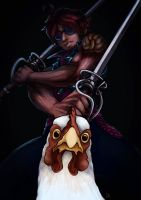 Chicken Chaser by PapaVego