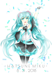 Happy birthday, Miku! by kanachroma