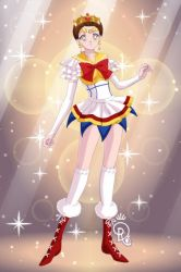 Catherine Of Valois AS SAILOR SENSHI by AaronPresents