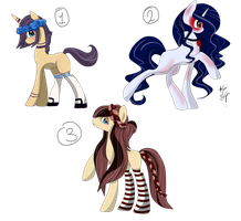 3 MLP Adopts Price reduced (CLOSED) by ProjectBlastArt