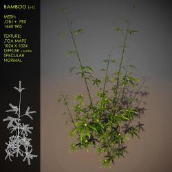 Free Bamboo v1 by Yughues