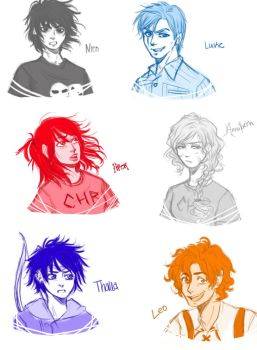 Some-demigods by Amigo12