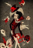 Red Poison - Masquerade by obscureBT