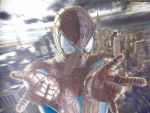 Spider-Man Fully Colored Ptint by corysmithart