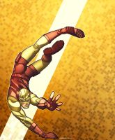 Yellow Daredevil by martegod