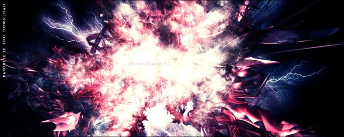 Abstract Brushes 12 by Ghost-001-
