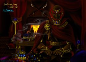 If Ganondorf held the Wisdom by Lydween