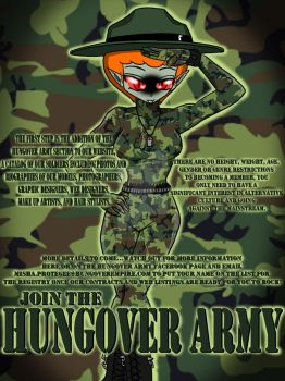 Join the HUNGOVER ARMY TODAY by PlayboyVampire