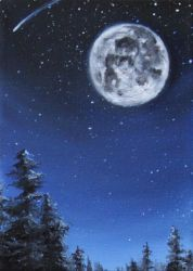Blue Moon by crazycolleeny
