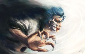Grimmjow by circlechild