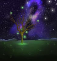 Magic Tree by Teddiew