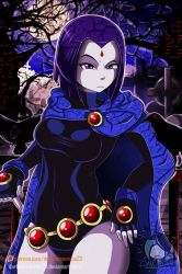 Teen Titans: Raven by DarkMirrorEmo23