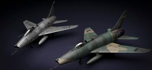 F-100 Sabres by rOEN911