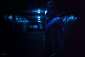 Nightwing cosplay by GraysonFin