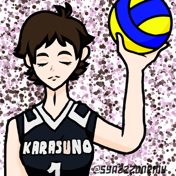 Never stop for volleyball by SyazzzOneniy