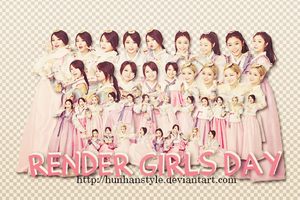 [190215] RENDER + STOCK GIRL's DAY ( HHStyle ) by HunhanStyle