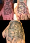 Cover Up Hand by sickdelusion