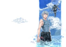 Suisei No Gargantia Ledo And Chamber by Nick-Ian