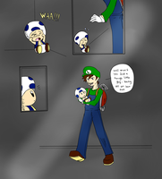 Toad - and then i became his fan  by 12luigi