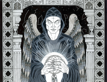 Dreamkeeper at The Gates of Horn and Ivory by Ravens-Illumination