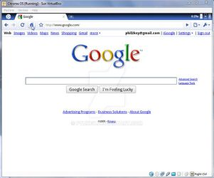 Google Chrome OS 3 by ptukey