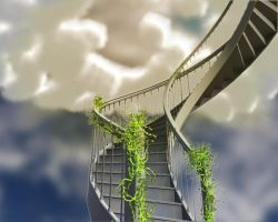 Stairway...to heaven by ArchDragon