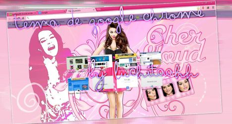 Cher Lloyd Google Chrome Theme by DamnProblem